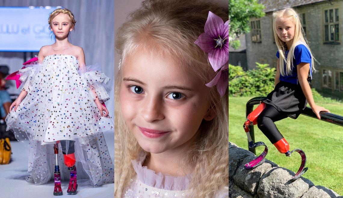 Daisy-May 9 anni, incanta tutti alle sfilate di Parigi e New York