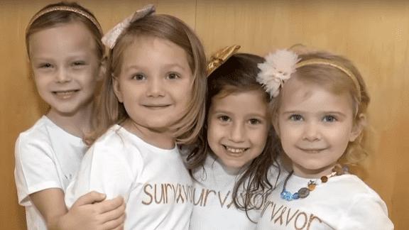 Amiche per la vita: storia di 4 piccole guerriere