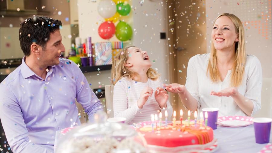 Niente festa di compleanno con gli amici? sorridi, la Festa Raddoppia!