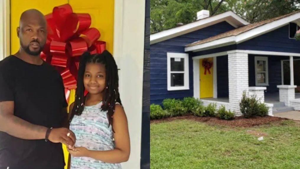 Una casa come regalo di compleanno per i 13 anni della figlia